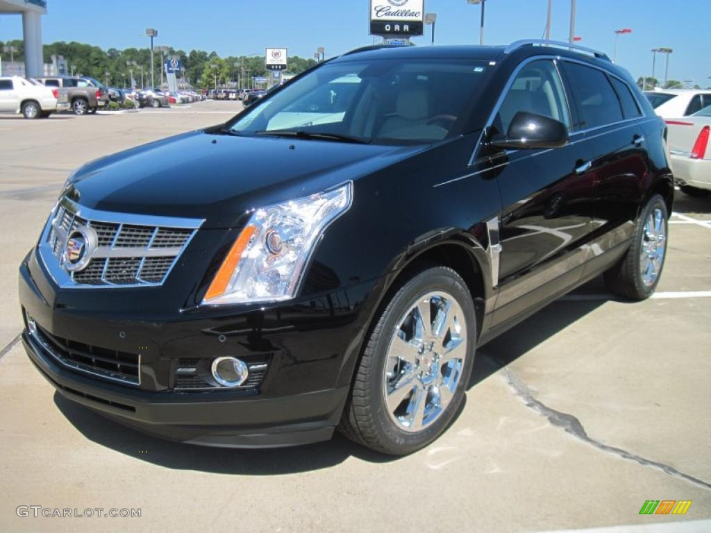 2011 Black Ice Metallic Cadillac Srx Fwd 38076670 Car Color Galleries