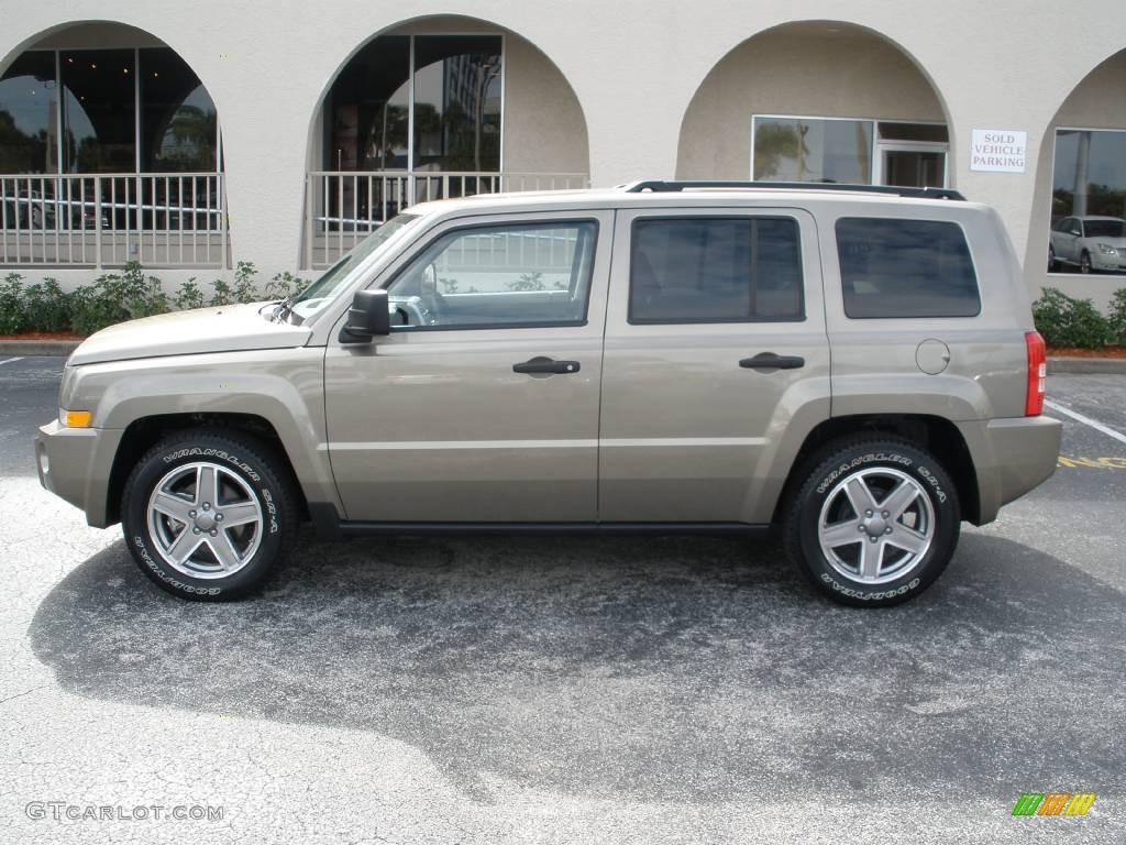 2008 light khaki metallic jeep patriot sport #376548 | gtcarlot
