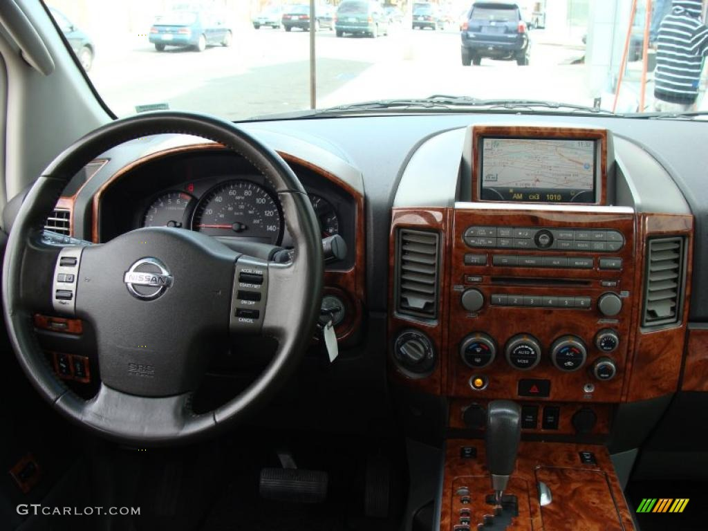 2005 nissan armada le 4x4 steel/titanium dashboard photo #38179376
