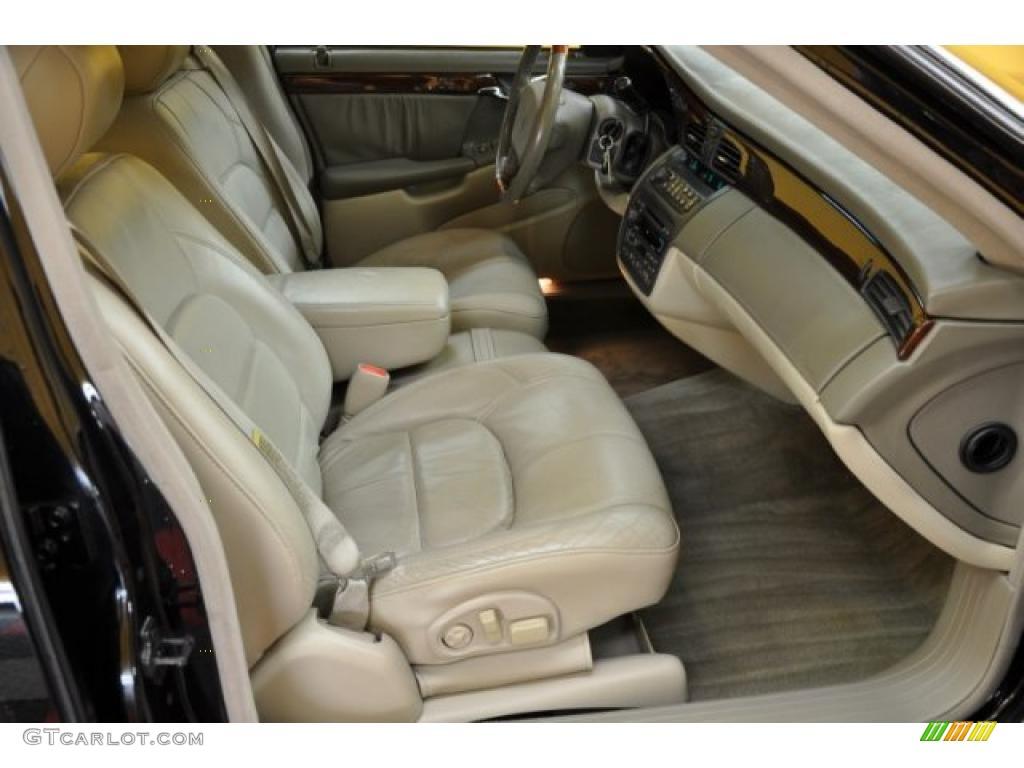 Neutral Shale Interior 2001 Cadillac Deville Dhs Sedan Photo 38181976