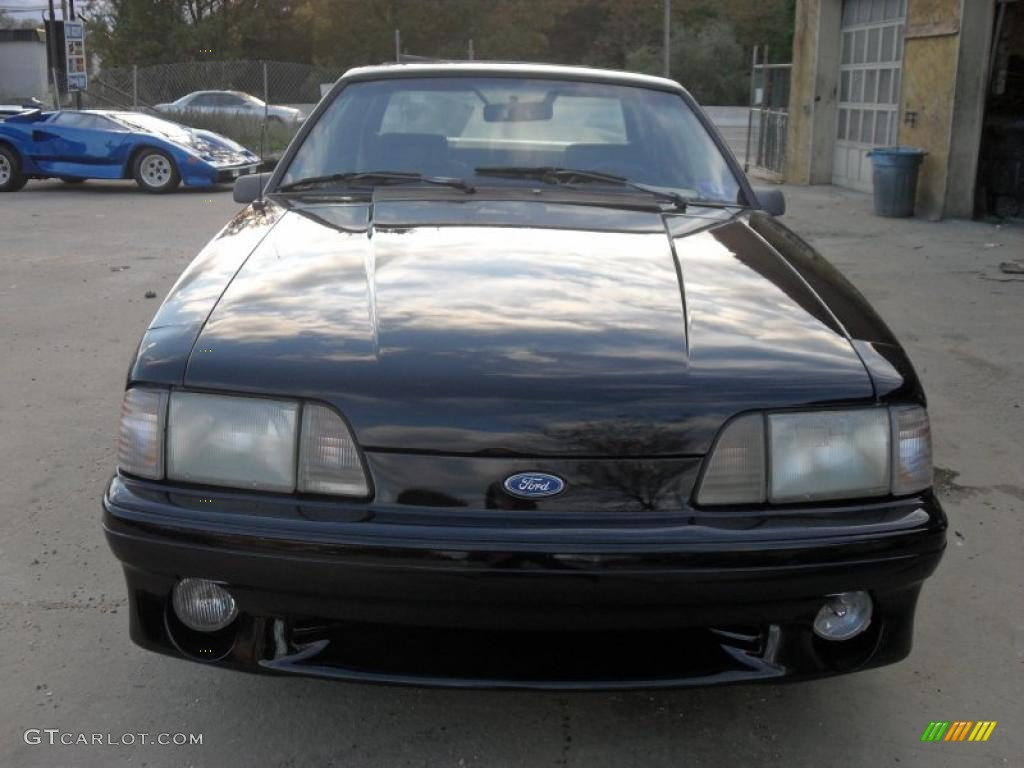 1990 black ford mustang gt coupe 38169683. Black Bedroom Furniture Sets. Home Design Ideas