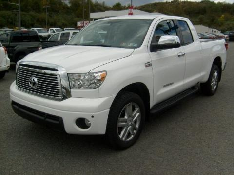 2010 Toyota Tundra Limited Double Cab 4x4 Data, Info and Specs