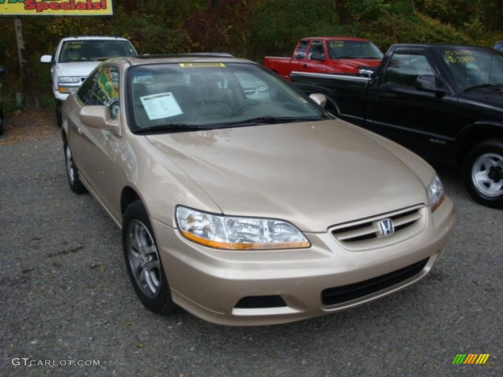 2002 naples gold metallic honda accord ex v6 coupe for 2002 honda accord ex coupe