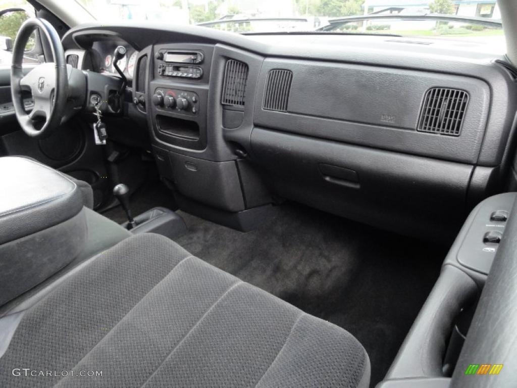 dark slate gray interior 2002 dodge ram 1500 slt quad cab 4x4 photo 38189903