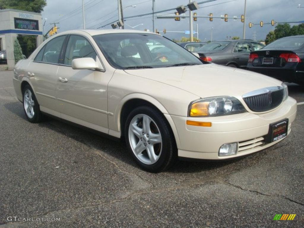 Ivory Parchment Tricoat 2000 Lincoln Ls V6 Exterior Photo