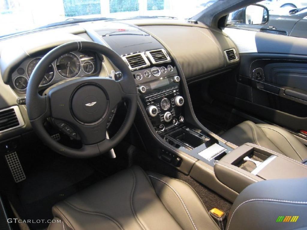 Obsidian Black Interior 2011 Aston Martin DBS Volante