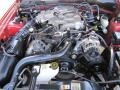 2001 Laser Red Metallic Ford Mustang V6 Convertible  photo #11