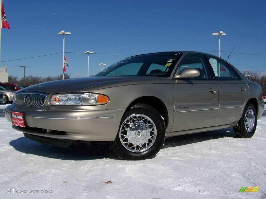 2002 Light Sandrift Metallic Buick Century Limited