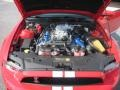 2011 Race Red Ford Mustang Shelby GT500 SVT Performance Package Coupe  photo #26
