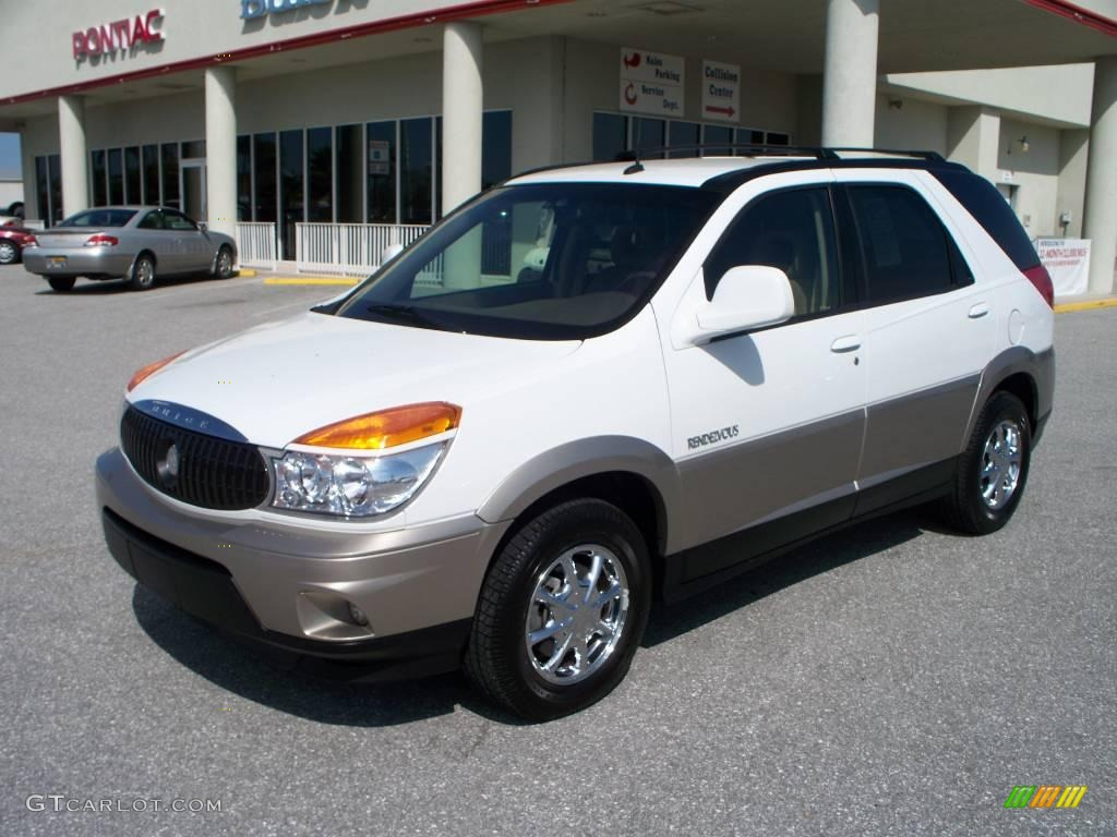 Olympic white buick rendezvous