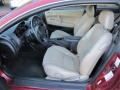 2002 Ruby Red Pearl Chrysler Sebring LXi Coupe  photo #9