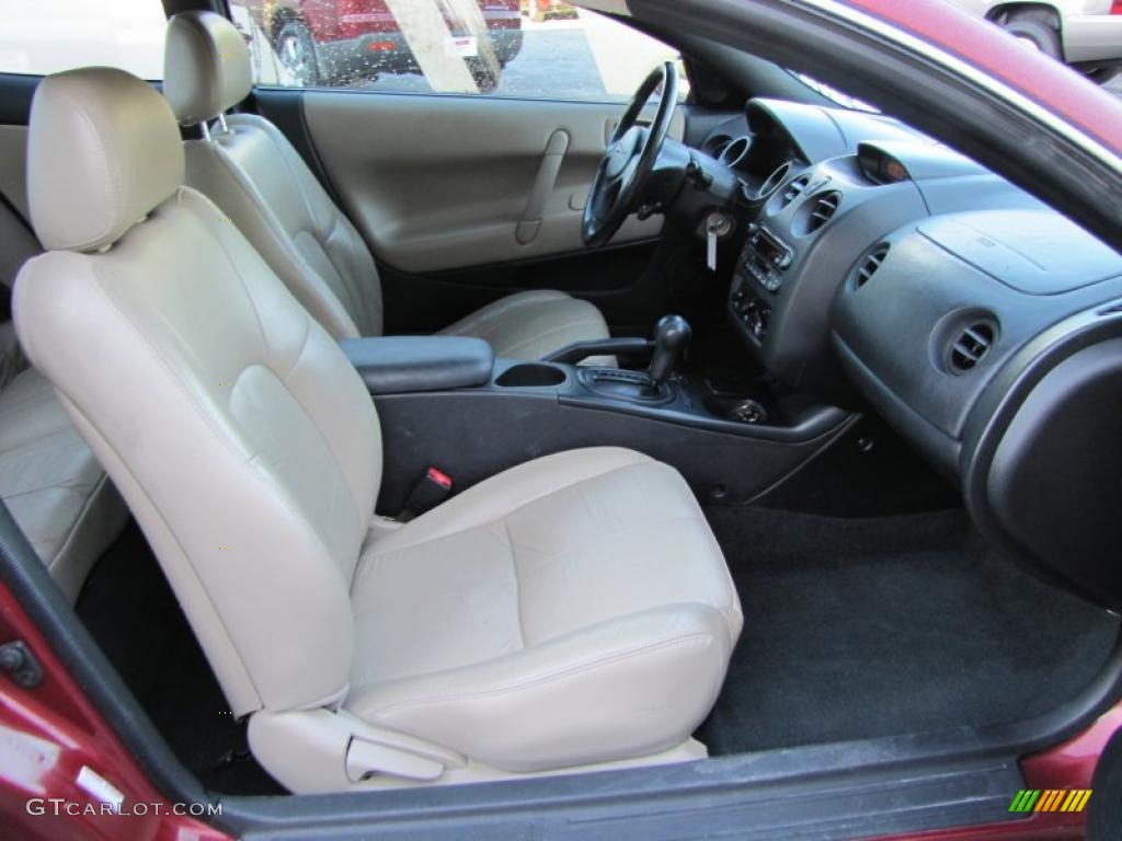 Black Beige Interior 2002 Chrysler Sebring Lxi Coupe Photo 38211416
