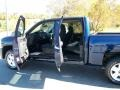 2011 Imperial Blue Metallic Chevrolet Silverado 1500 LT Crew Cab 4x4  photo #4
