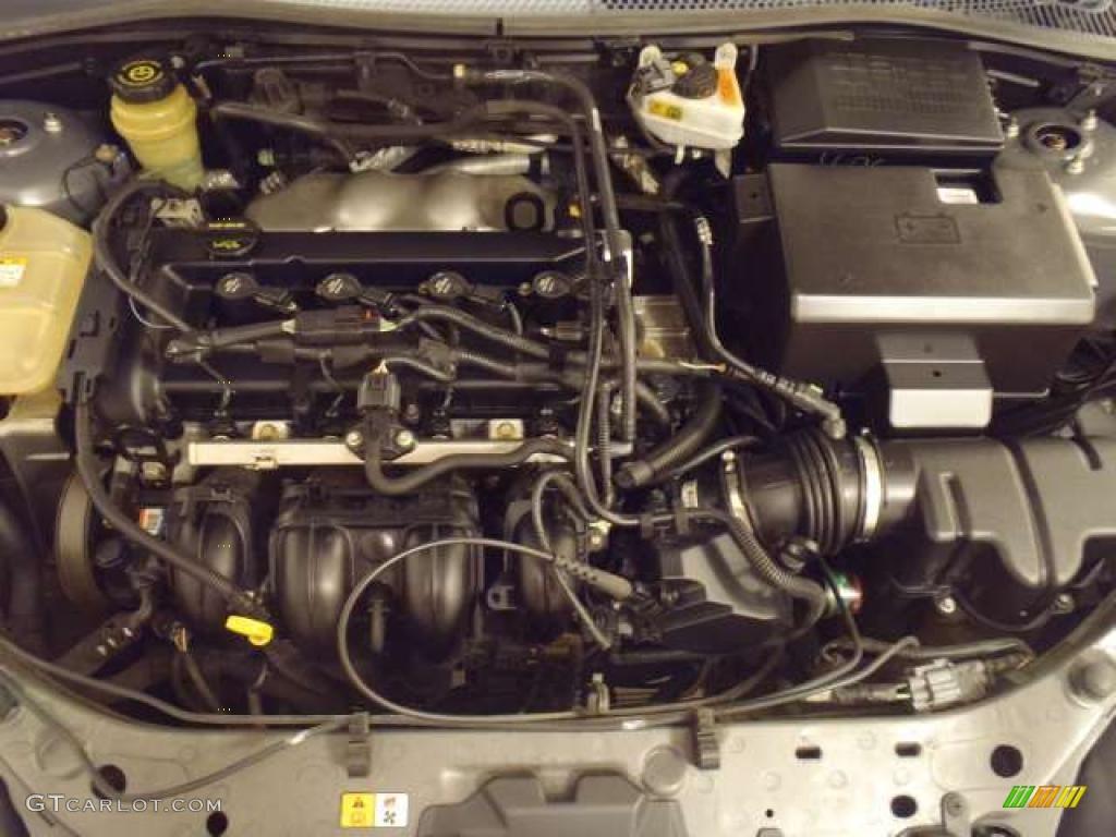 2005 ford focus zxw se wagon engine photos