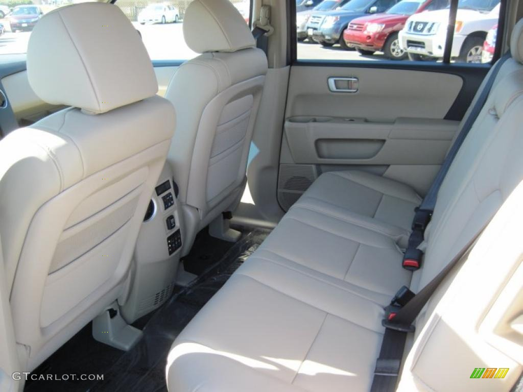 beige interior 2011 honda pilot ex l photo 38235791. Black Bedroom Furniture Sets. Home Design Ideas