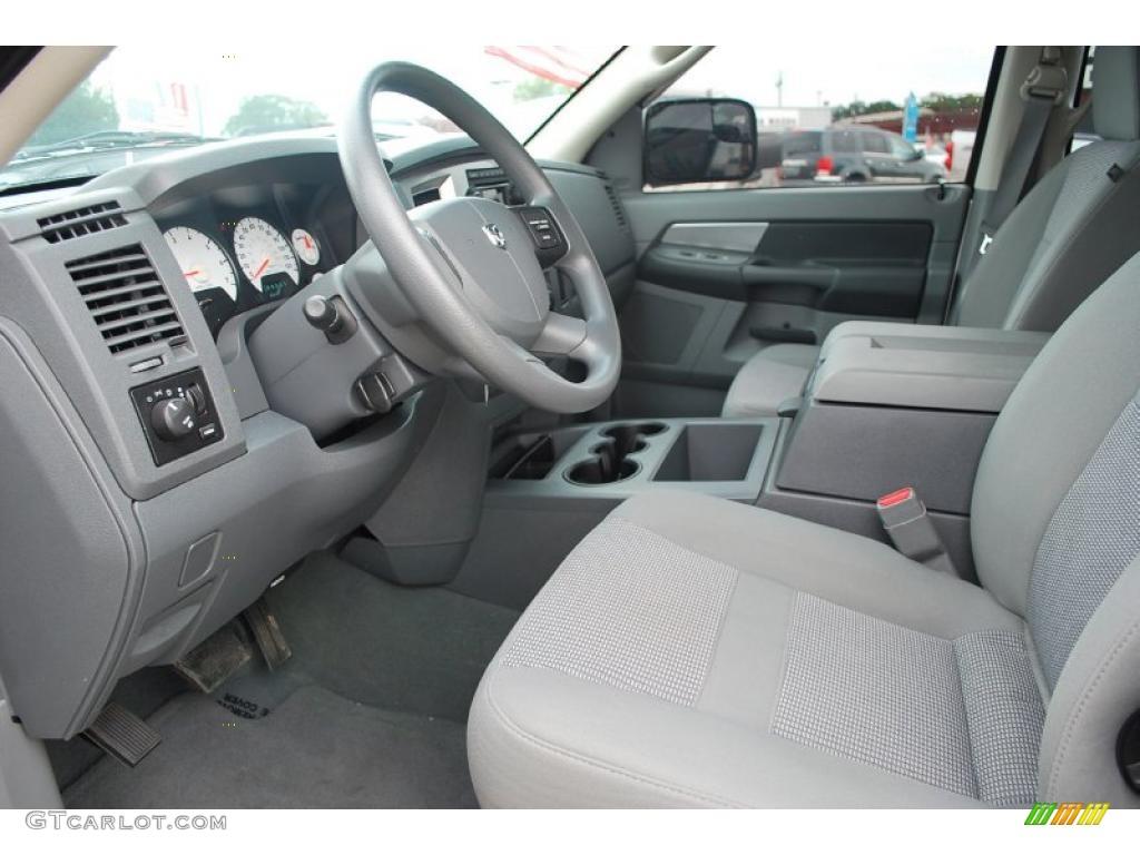 Medium Slate Gray Interior 2008 Dodge Ram 1500 Slt Mega Cab 4x4 Photo 38245327