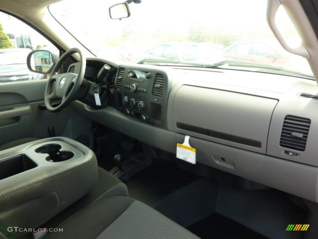 2011 Chevrolet Silverado 1500 Regular Cab 4x4 Dark Titanium Dashboard Photo #38247975