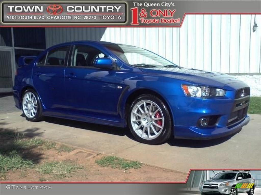 2008 Lancer Evolution Colors