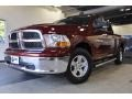 2011 Deep Cherry Red Crystal Pearl Dodge Ram 1500 SLT Quad Cab  photo #2