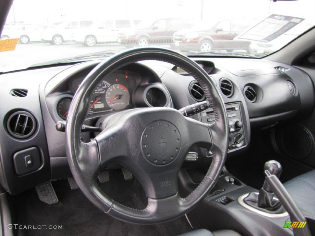 2003 Mitsubishi Eclipse GTS Coupe Interior Photo #38262035 Design