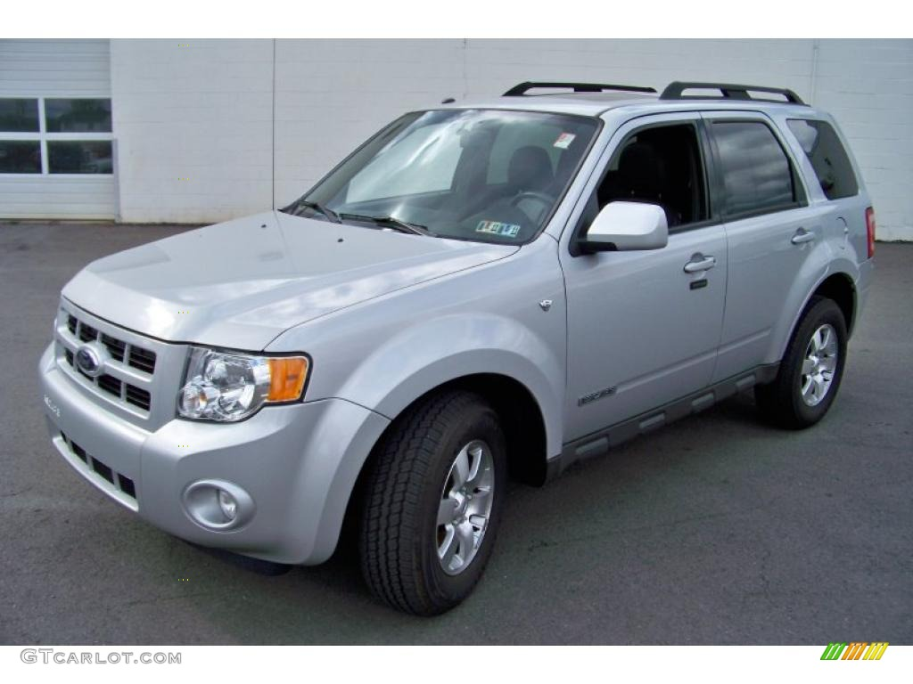2008 Ford Escape Xls 2008 Escape Limited 4WD - Silver Metallic / Charcoal photo #1