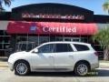 2009 White Opal Buick Enclave CXL  photo #1
