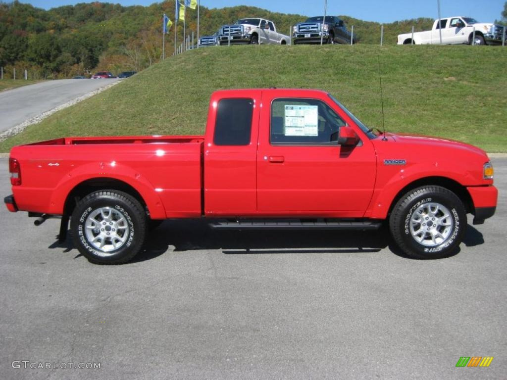 2011 torch red ford ranger sport supercab 4x4 38270432 photo 5 car color. Black Bedroom Furniture Sets. Home Design Ideas
