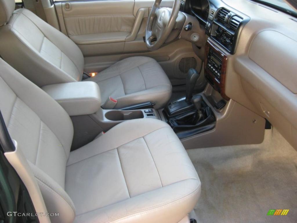 Beige Interior 2000 Isuzu Rodeo Lse 4wd Photo 38283732