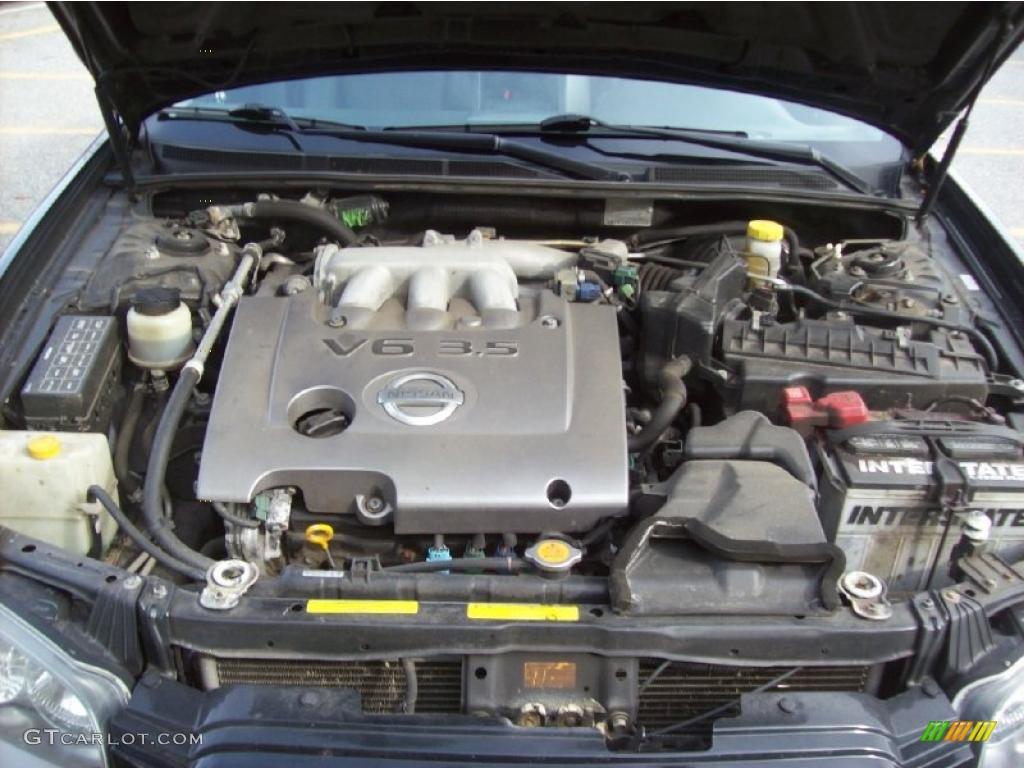 2003 nissan maxima se 3 5 liter dohc 24 valve v6 engine. Black Bedroom Furniture Sets. Home Design Ideas