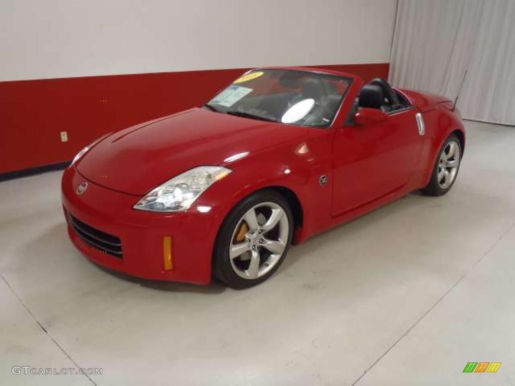 nogaro red 2008 nissan 350z grand touring roadster exterior photo 38308283. Black Bedroom Furniture Sets. Home Design Ideas