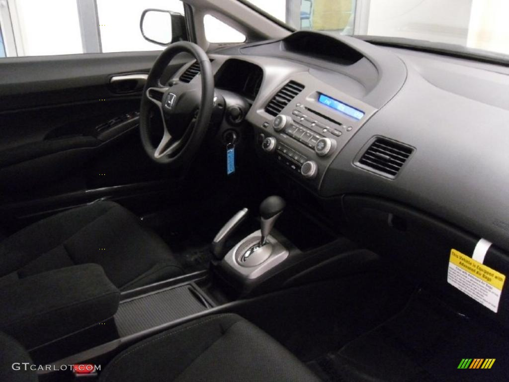 Captivating 2011 Honda Civic LX S Sedan Interior Photo #38308839