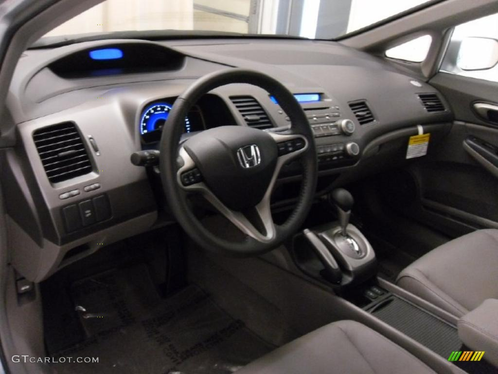 Gray Interior 2011 Honda Civic Ex L Sedan Photo 38309455 Gtcarlot Com