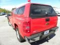 2009 Victory Red Chevrolet Silverado 1500 LT Extended Cab 4x4  photo #16