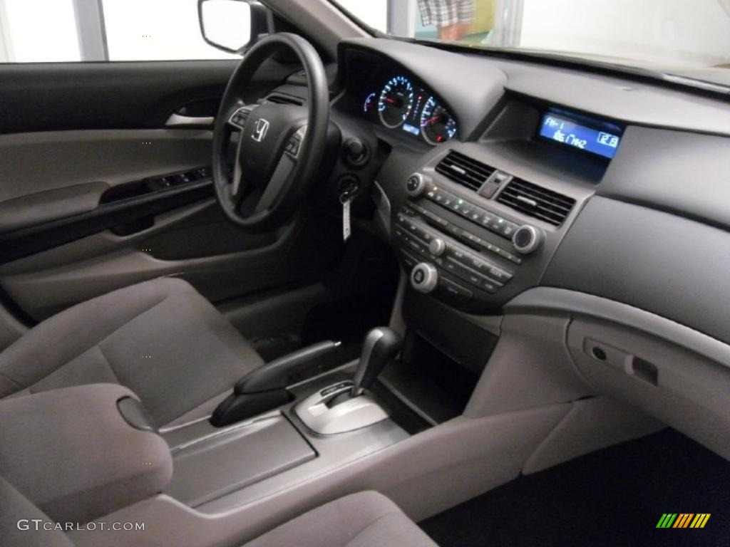 Gray Interior 2011 Honda Accord Lx P Sedan Photo 38312295