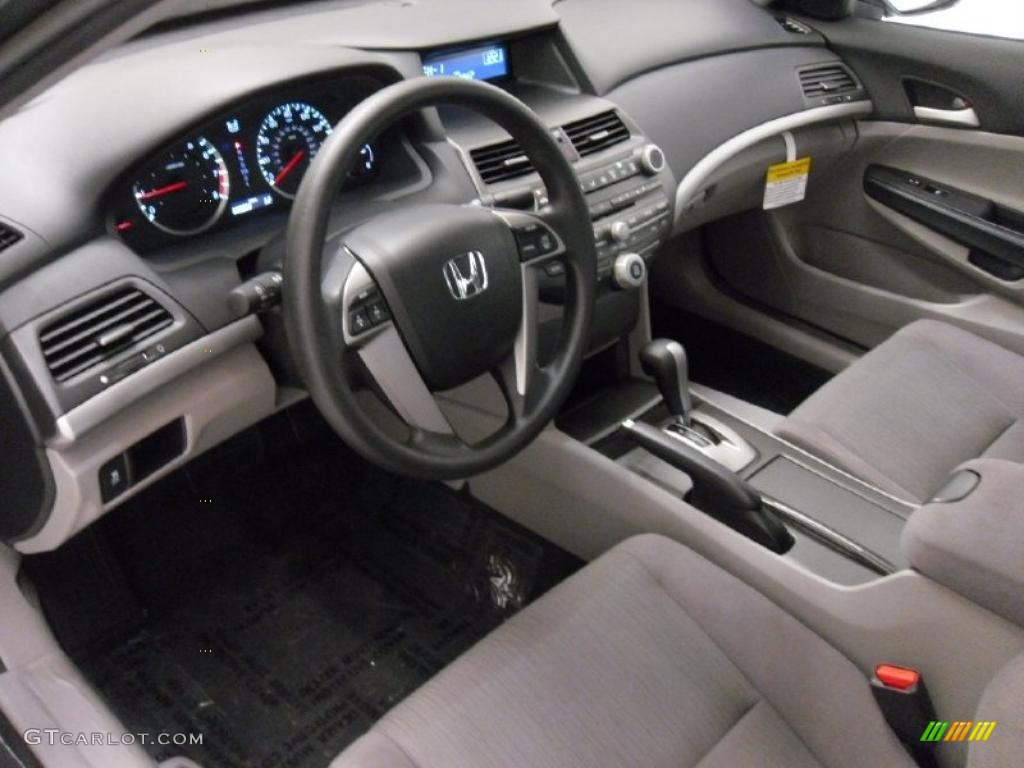 Gray Interior 2011 Honda Accord Lx P Sedan Photo 38312395