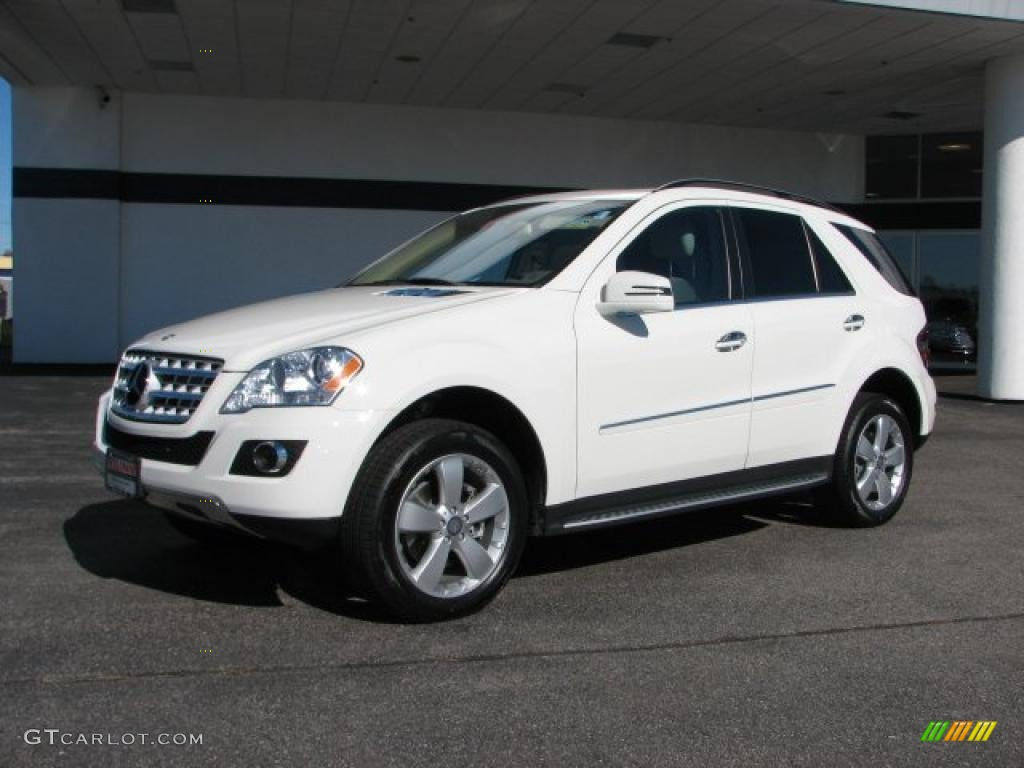Arctic white 2011 mercedes benz ml 350 4matic exterior for Mercedes benz 350 ml