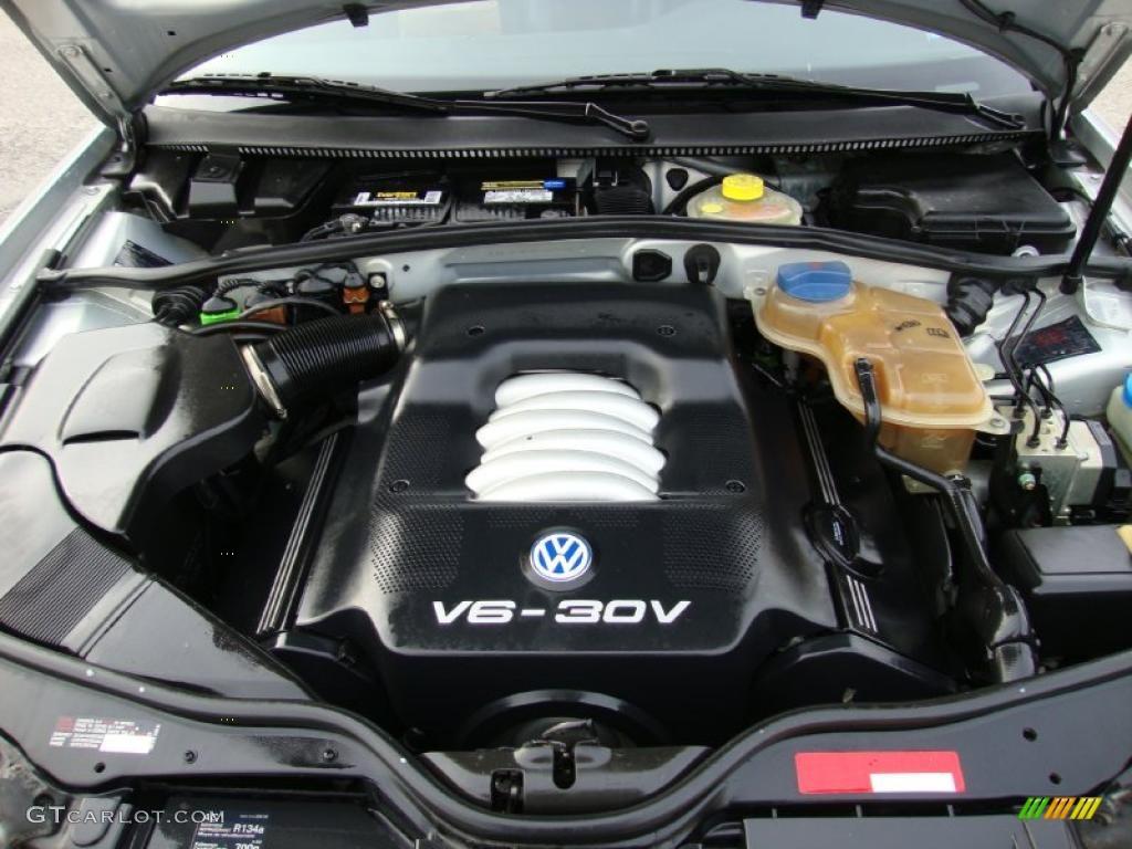 2000 Volkswagen Passat Glx V6 Awd Sedan 2 8 Liter Dohc 30