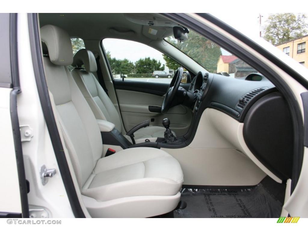 parchment interior 2004 saab 9 3 linear sedan photo. Black Bedroom Furniture Sets. Home Design Ideas