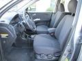 Black 2005 Kia Sportage Interiors