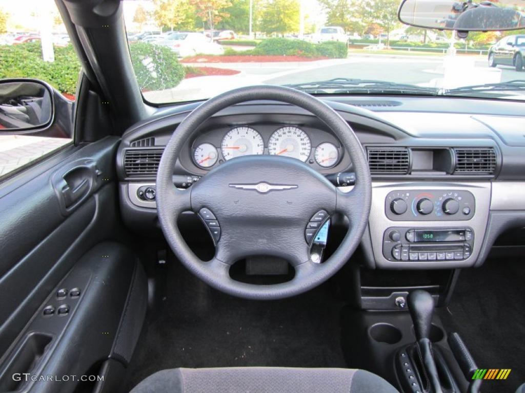 2005 chrysler sebring gtc convertible