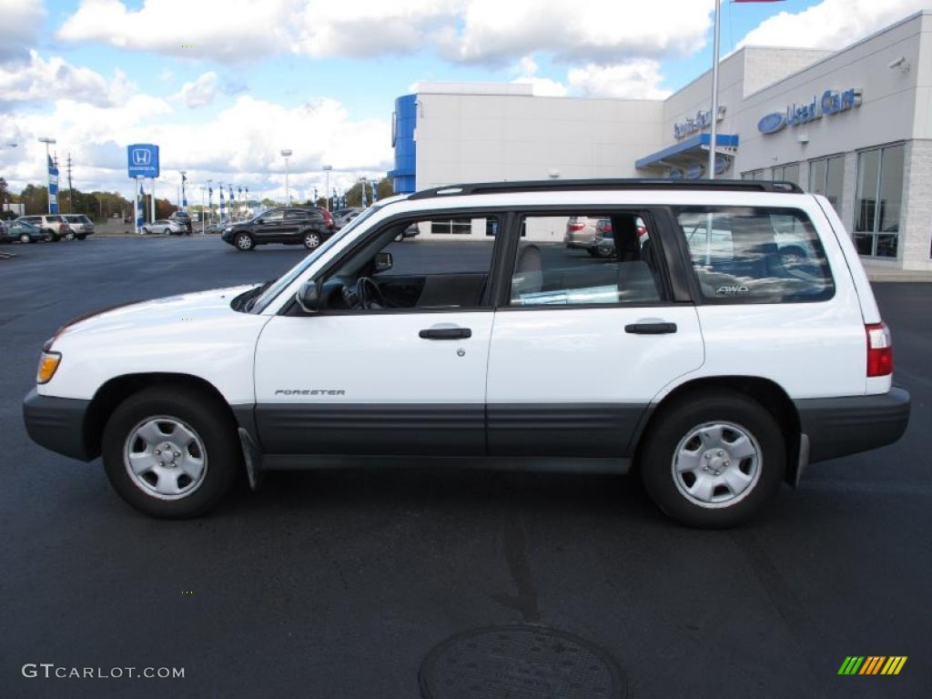 white Forester image