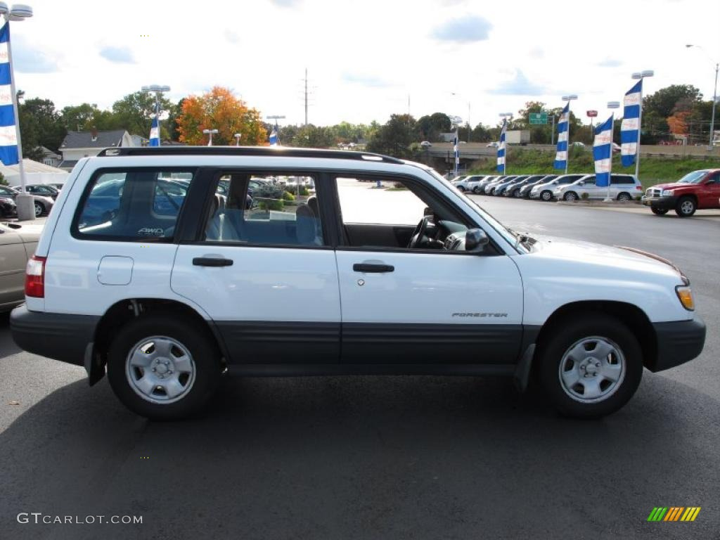 2001 aspen white subaru forester 2 5 l 38276397 photo 6 gtcarlot com car color galleries gtcarlot com