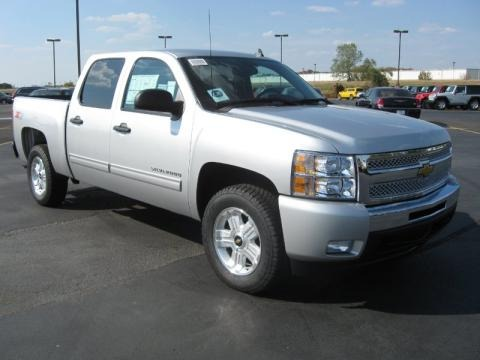 2011 Chevrolet Silverado 1500 LT Crew Cab 4x4 Data, Info and Specs