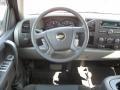 Dark Titanium Steering Wheel Photo for 2011 Chevrolet Silverado 1500 #38338584
