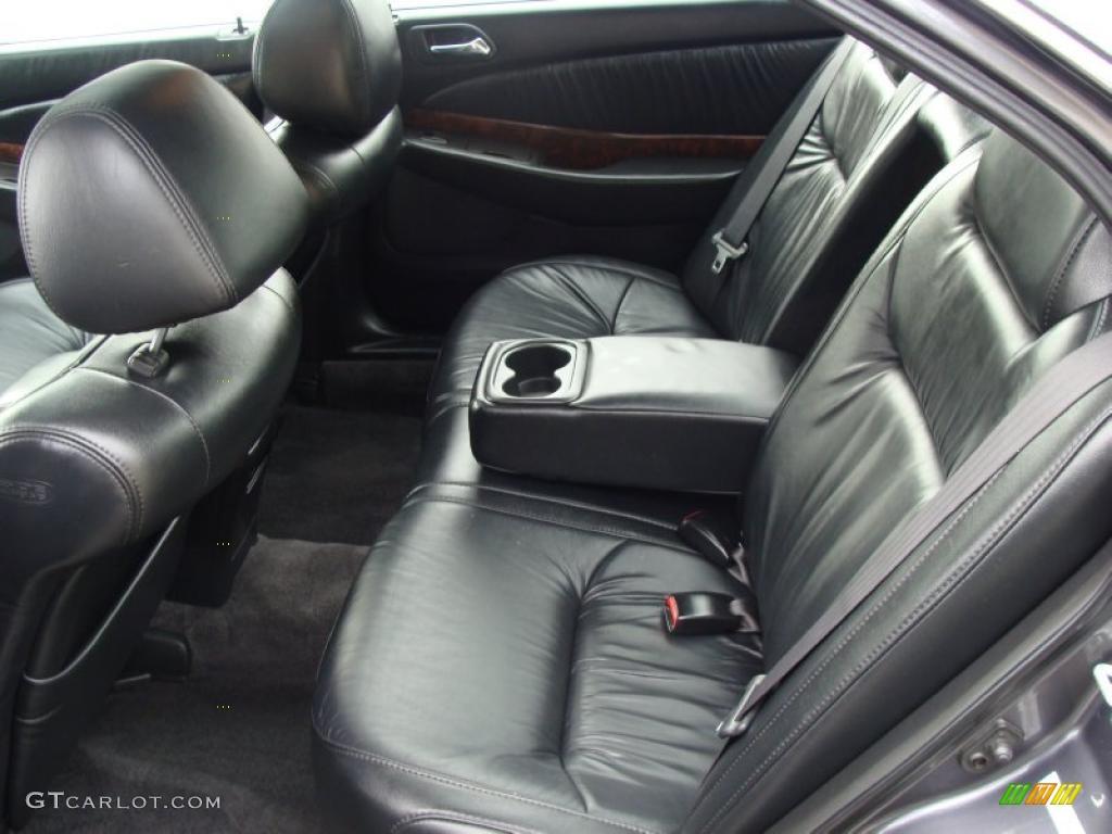Ebony Interior 2003 Acura TL 3.2 Photo #38338764 ...