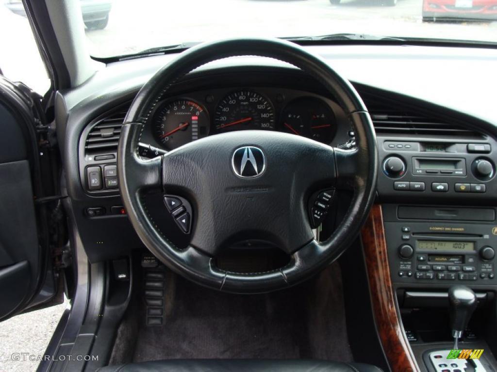 Acura TL Ebony Steering Wheel Photo GTCarLotcom - Acura tl steering wheel