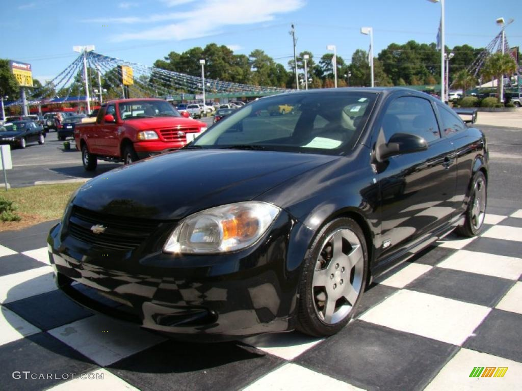 black 2006 chevrolet cobalt ss supercharged coupe exterior. Black Bedroom Furniture Sets. Home Design Ideas