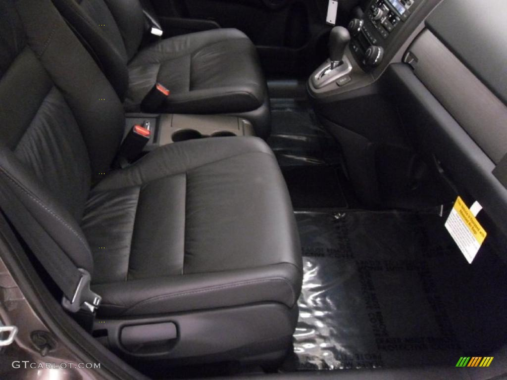Black Interior 2011 Honda Cr V Ex L 4wd Photo 38349702