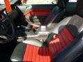 2007 Torch Red Ford Mustang Shelby GT500 Coupe  photo #10
