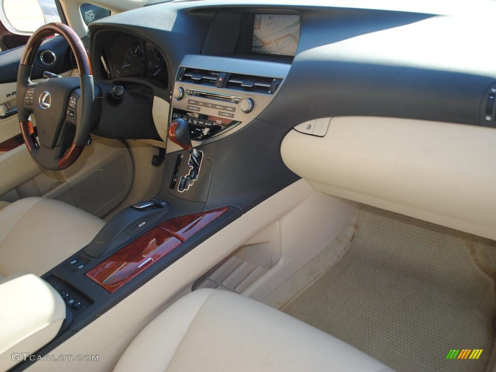 parchment brown walnut interior 2010 lexus rx 350 awd. Black Bedroom Furniture Sets. Home Design Ideas